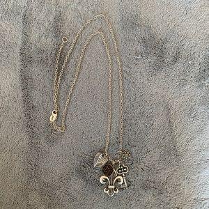 Fleur De Lis Necklace Long